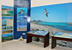 Environmental Information Center on Masirah, Oman